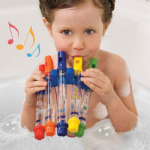 5 Pack Bath Water Flutes